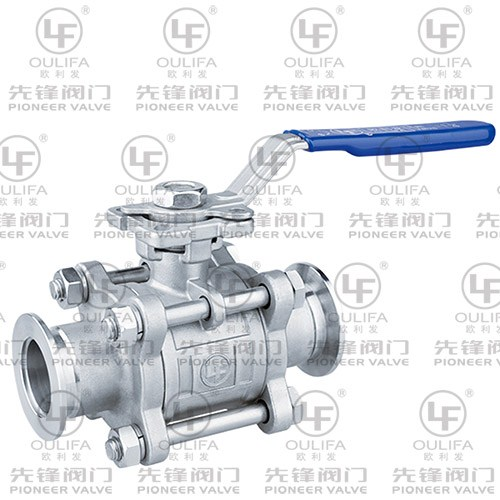 1000PSI Clamped Ball Valve PQ81F